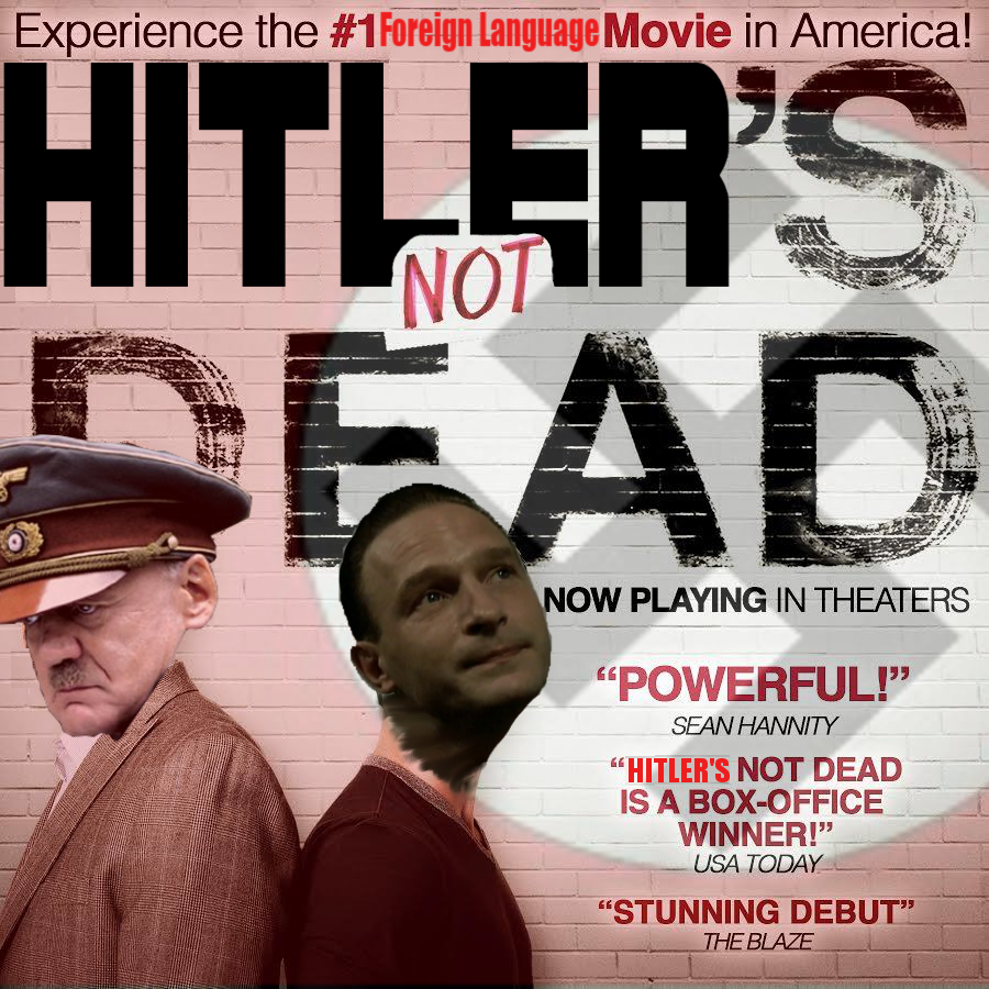 bbc hitler's not dead downfall hitler reacts know your meme