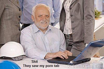 Porn Tab Hide The Pain Harold Know Your Meme