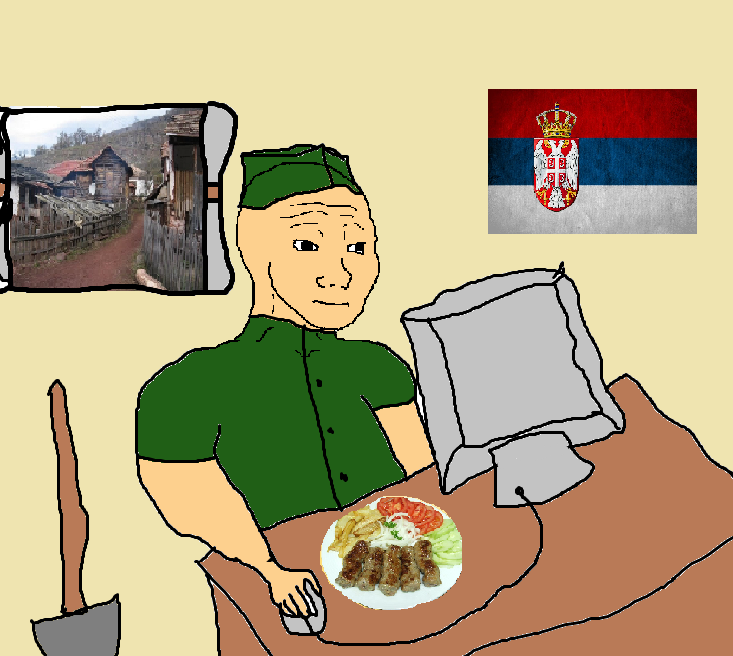 136 that serbian feel country feels know your meme