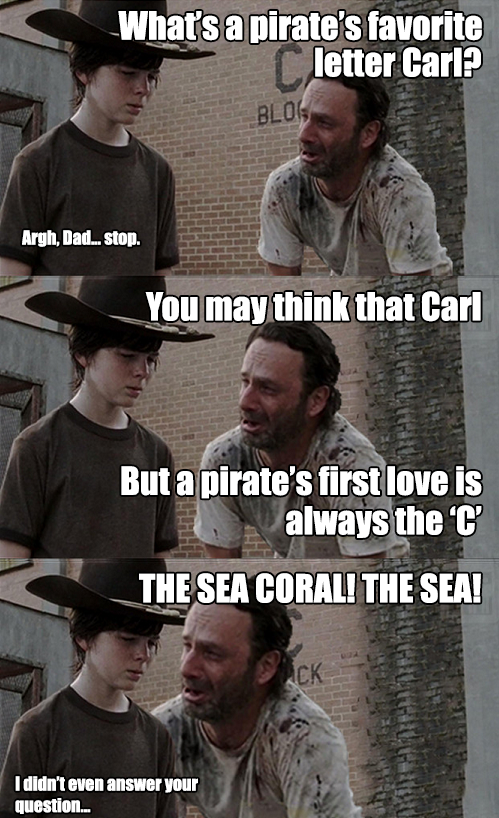51c the sea coral! the sea! carl! know your meme