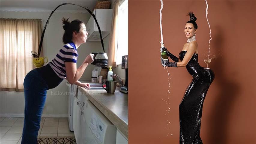 Kim Kardashian Mom Version Kim Kardashian S Paper