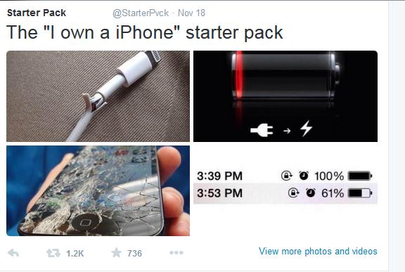 c58 i got an iphone starter pack starter packs know your meme