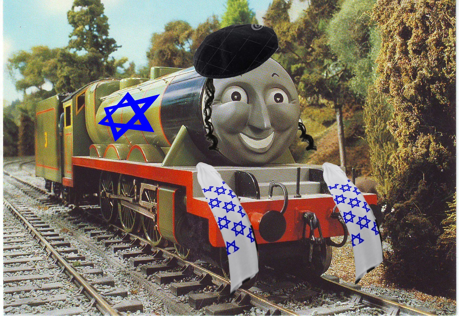 a33 henry is a jew thomas the tank engine know your meme