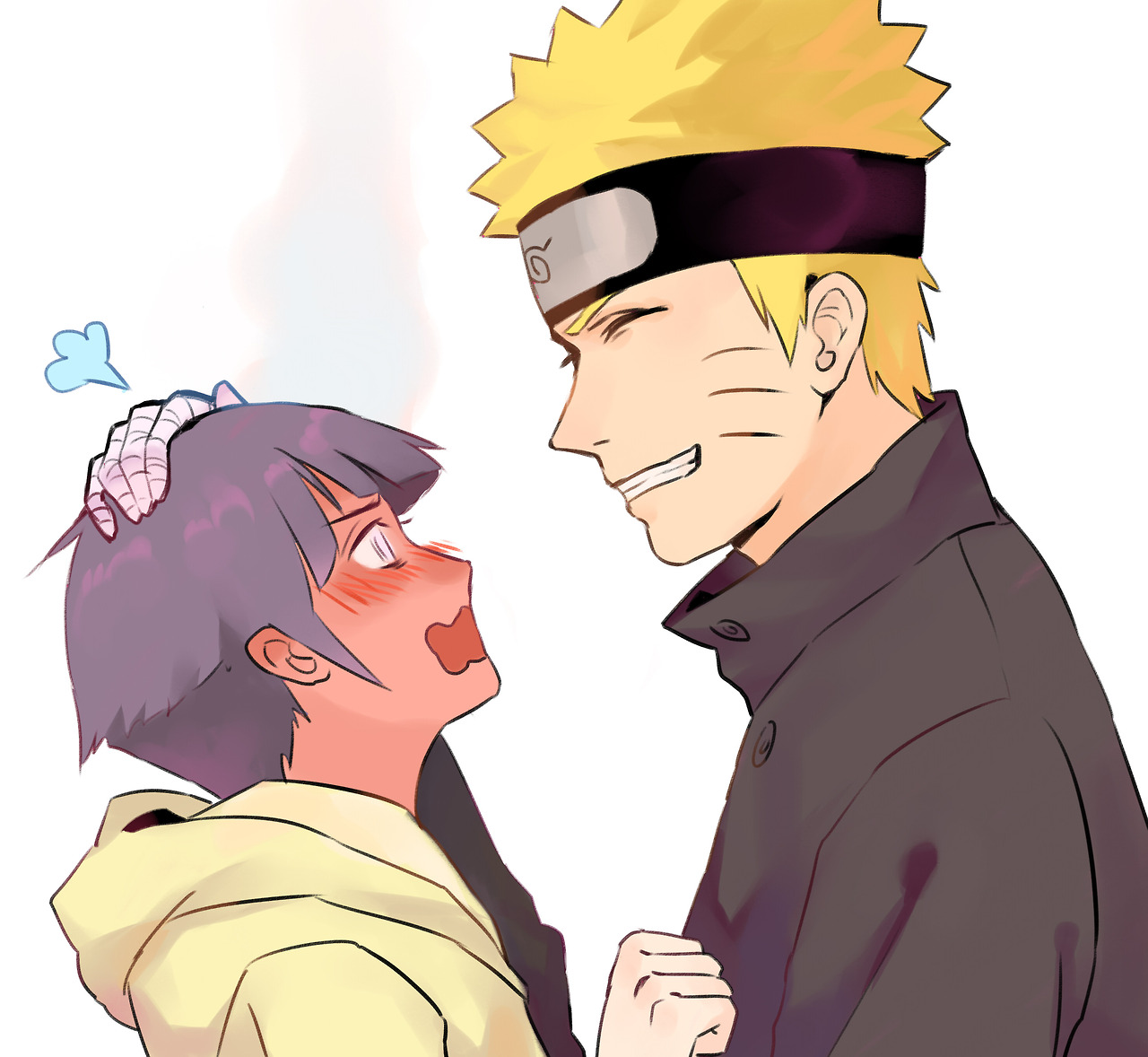 Young Hinata Can't Handle Older Naruto.