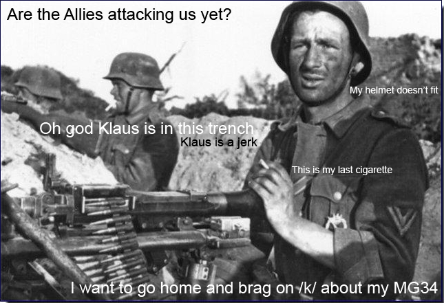 Funny Ww2 Memes: I Wish I Was At Home