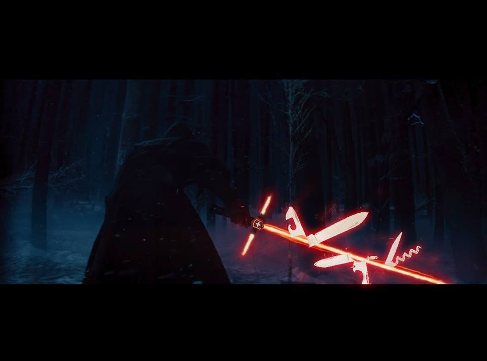Sith Army Saber Crossguard Lightsaber Know Your Meme