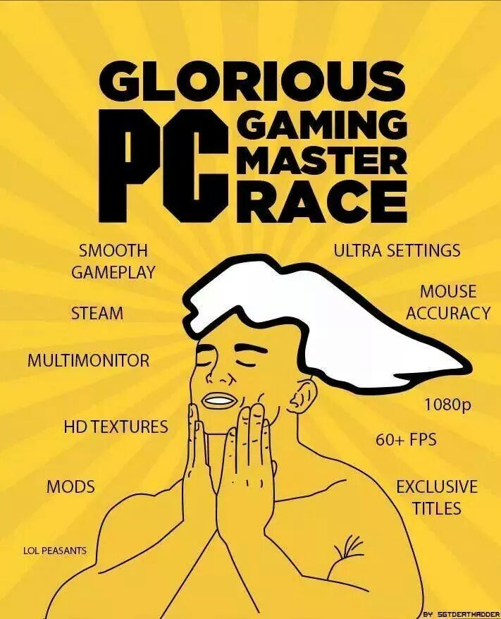 f5d image 878446] the glorious pc gaming master race know your meme,Pc Master Race Meme