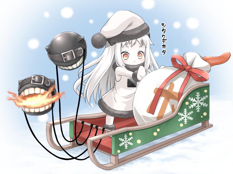 ほっぽちゃん クリスマス仕様 | Kantai Collection | Know Your Meme