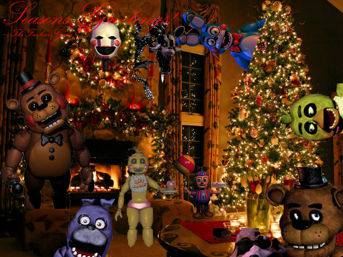 Merry Christmas from the Fazbear Gang! | Five Nights at Freddy's ...