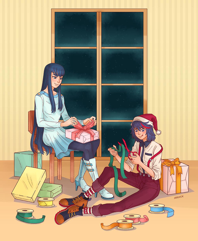 Merry Christmas a From Ryuko and Satsuki. | Kill la Kill | Know ...