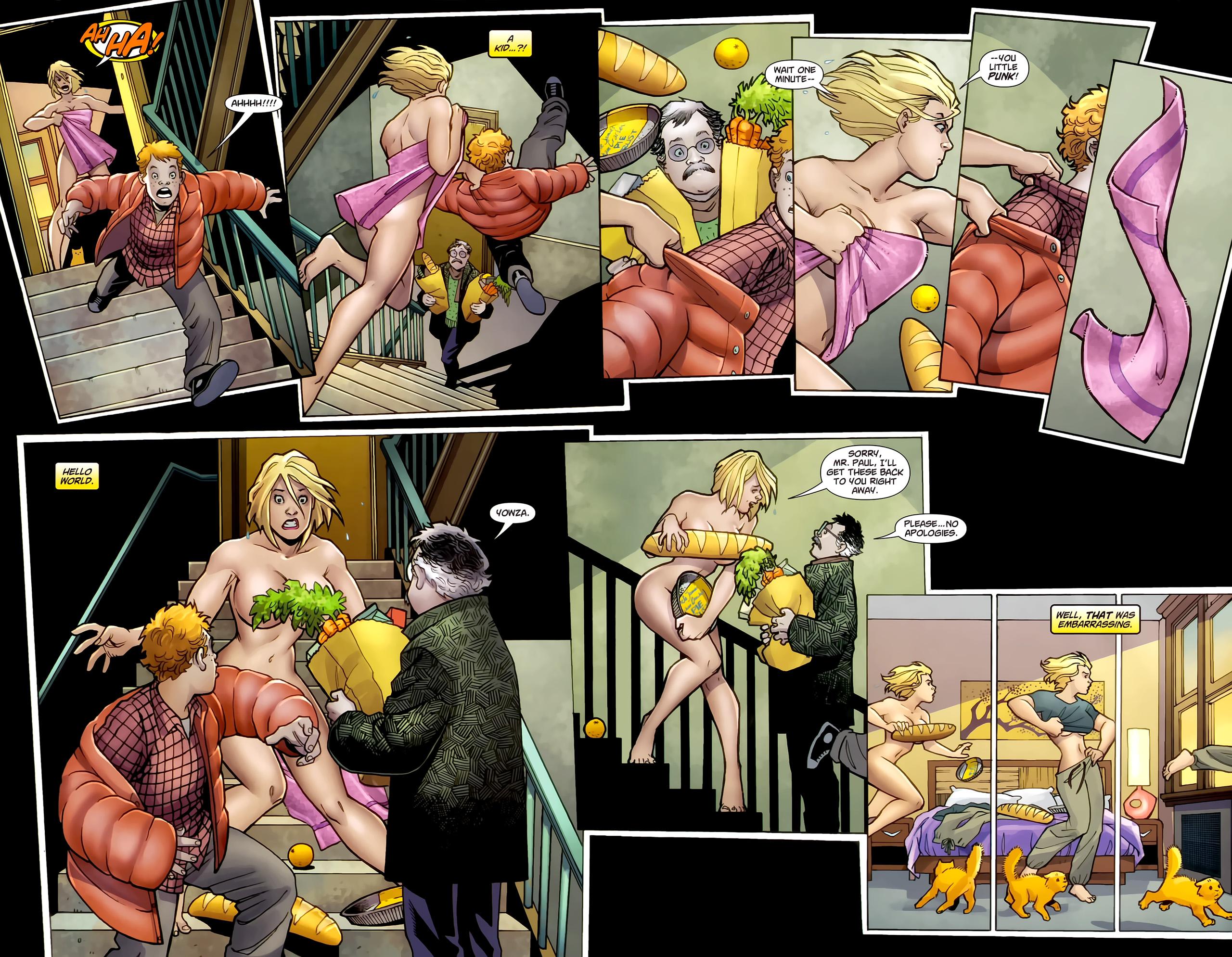 Power Girl Sex