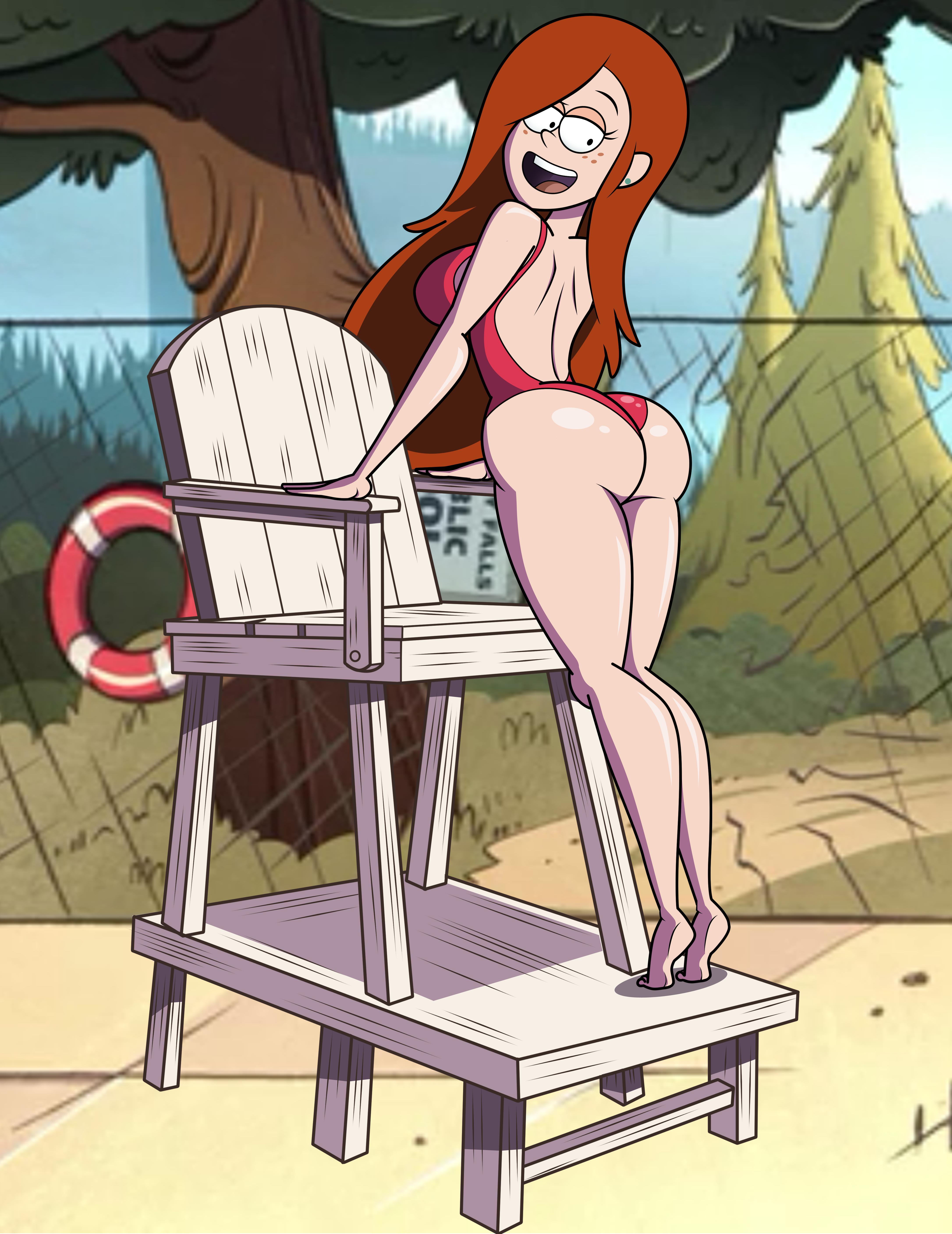 hot sexy girl at lodge