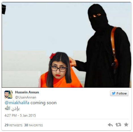 1a8 image 893382] mia khalifa death threats know your meme