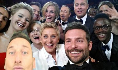 6bd selfie totti ellen degeneres oscar selfie know your meme