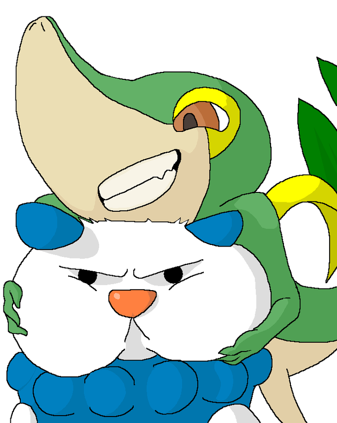 pokemon mega snivy wwwpixsharkcom images galleries
