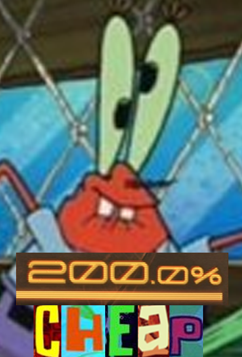 d2c oh yeah mr krabs! 200% mad know your meme
