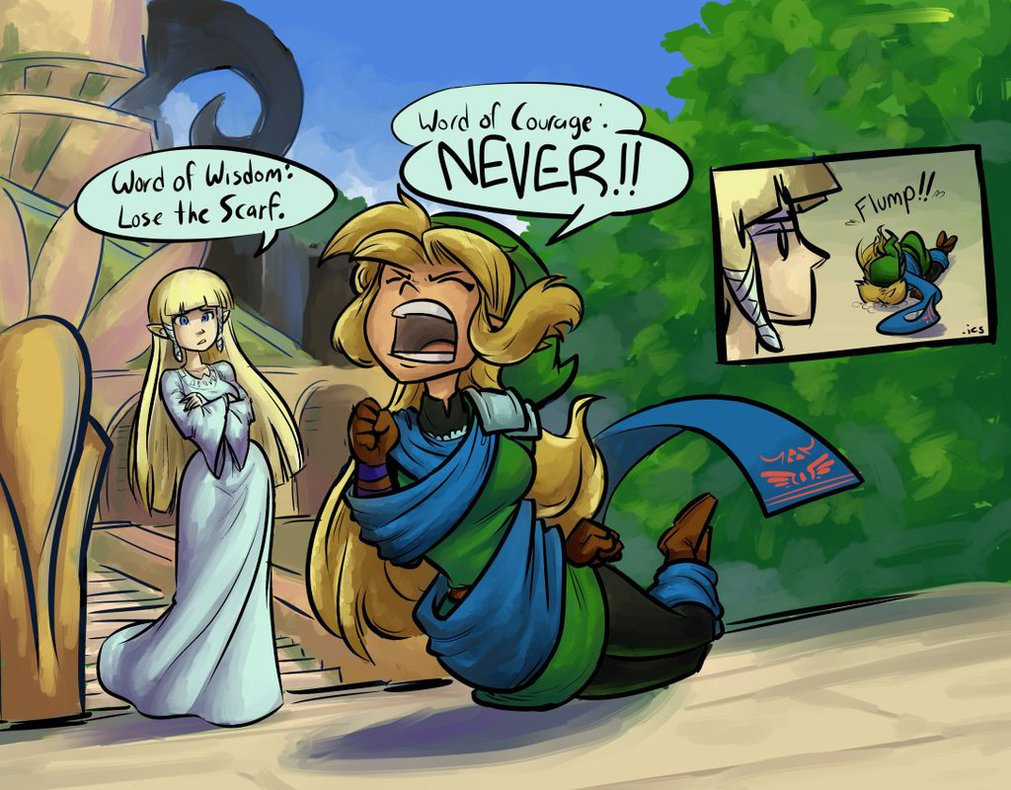 Link Turns Into A Girl