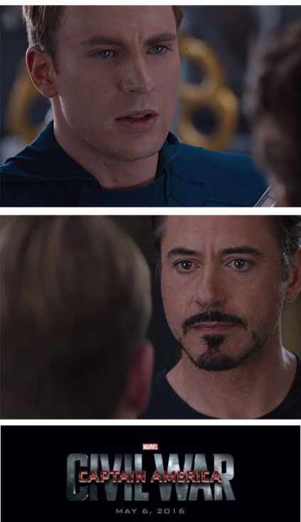 49d civil war meme template captain america civil war 4 pane