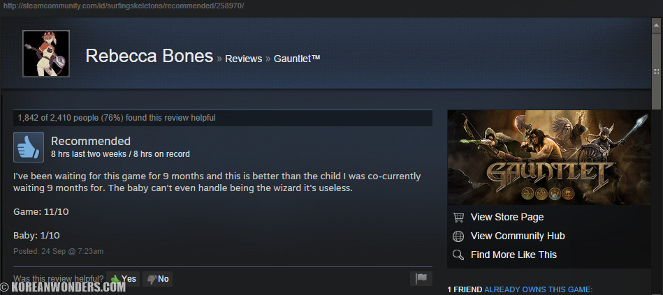 5f5 image 902540] steam user reviews know your meme