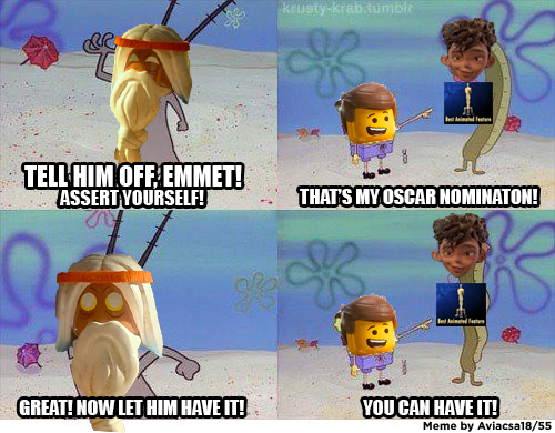 And That S How Quot The Lego Movie Quot Didn T Get Nominated The