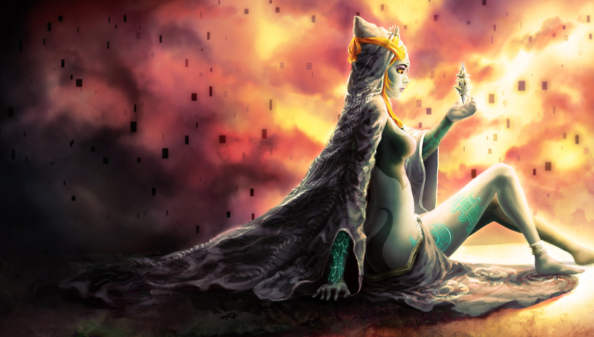 Legend Of Zelda Hyrule Warriors Midna