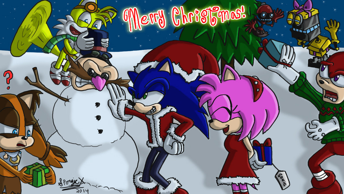 Sonic Boom Christmas | Sonic the Hedgehog | Know Your Meme