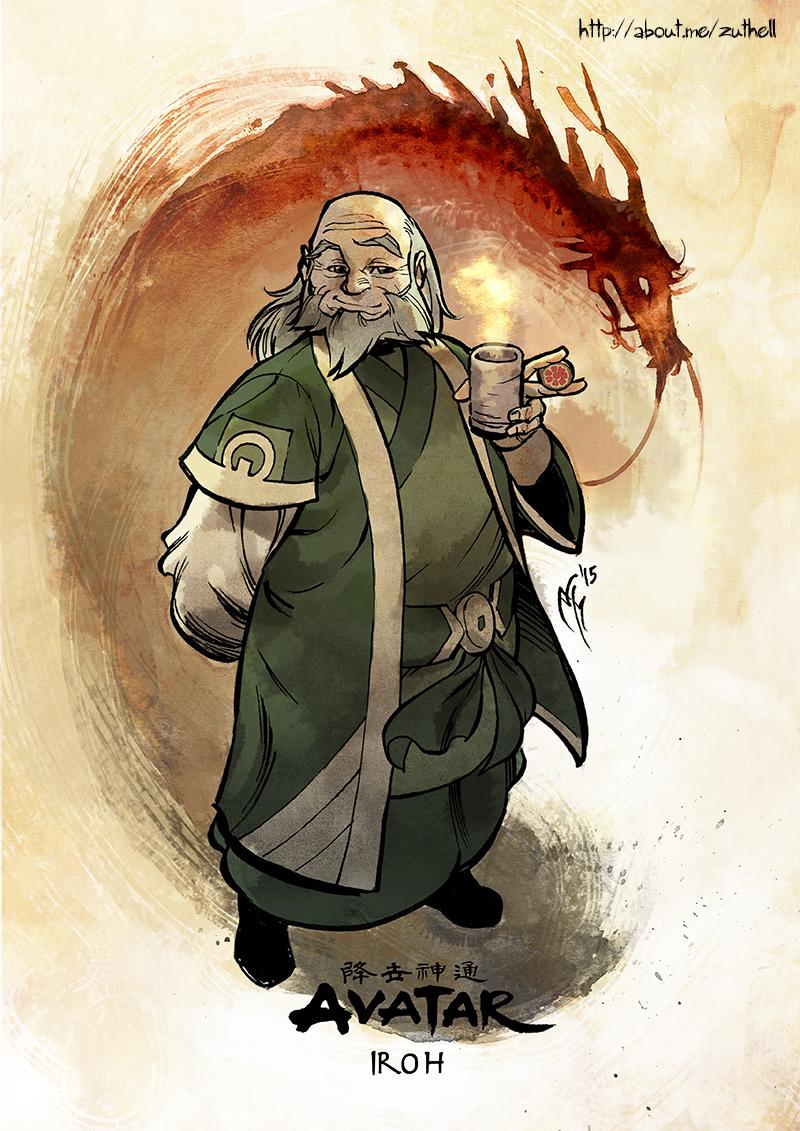 legend of korra iroh