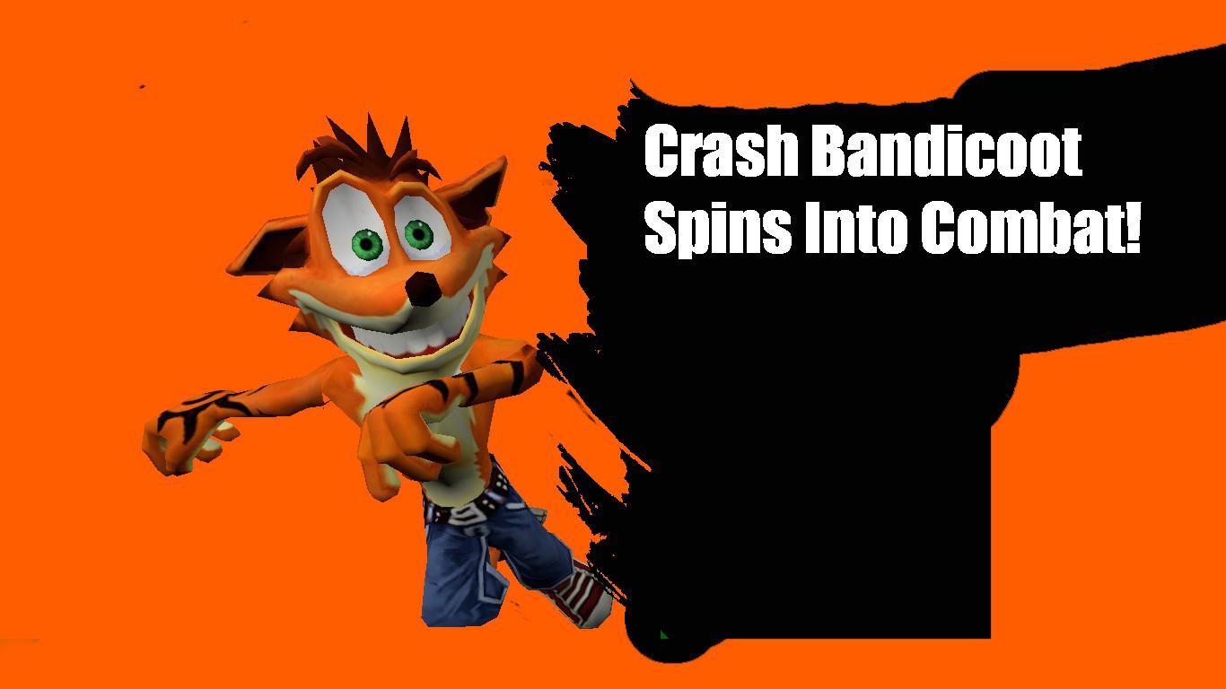 Crash Bandicoot Spins into Combat! | Super Smash Bros. 4 ...
