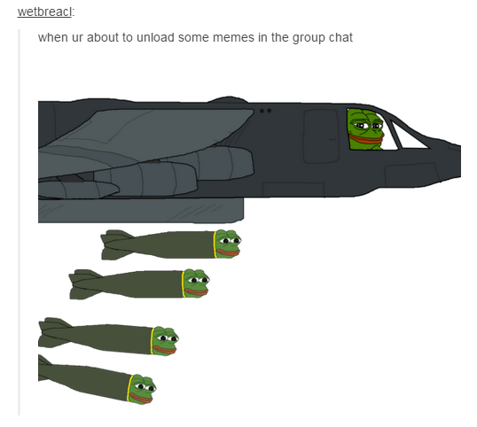 453 when ur about to unload some memes in the group chat pepe the,Know Your Meme Pepe