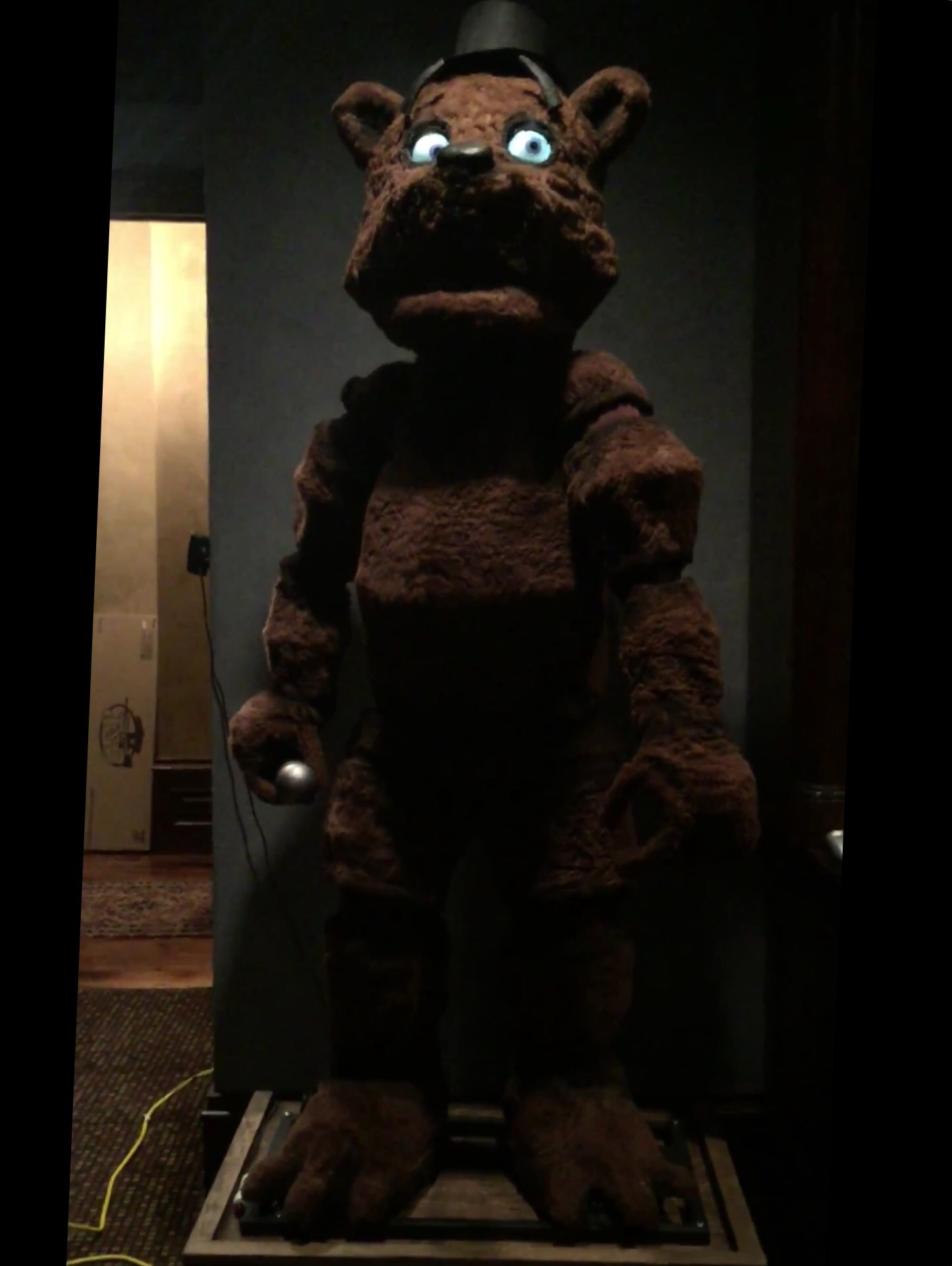 SOMEONE DID A REAL LIFE FREDDY | Five Nights at Freddy's ...