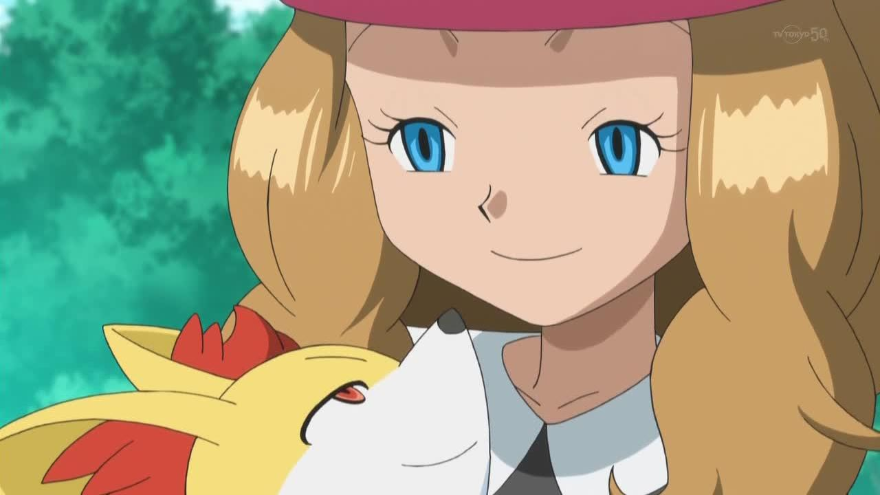 Pokemon X And Y Serena Ash Ketchum May Misty Dawn Anime Human Hair Color Nose Vertebrate