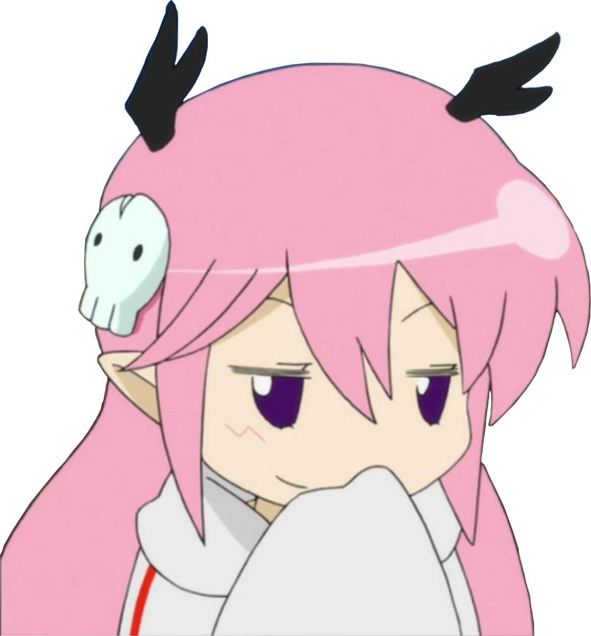 Smug Madoka face.png | Smug Anime Face | Know Your Meme