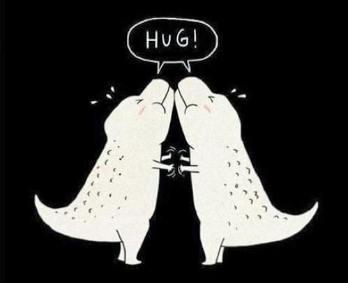 TRex Hug!