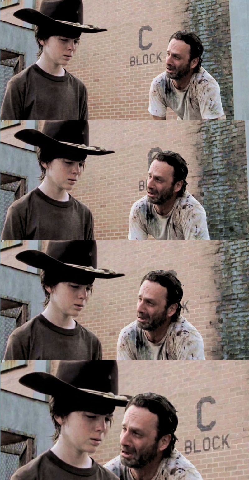 Exploring The Coral Reef With Rick Grimes The Walking Dead