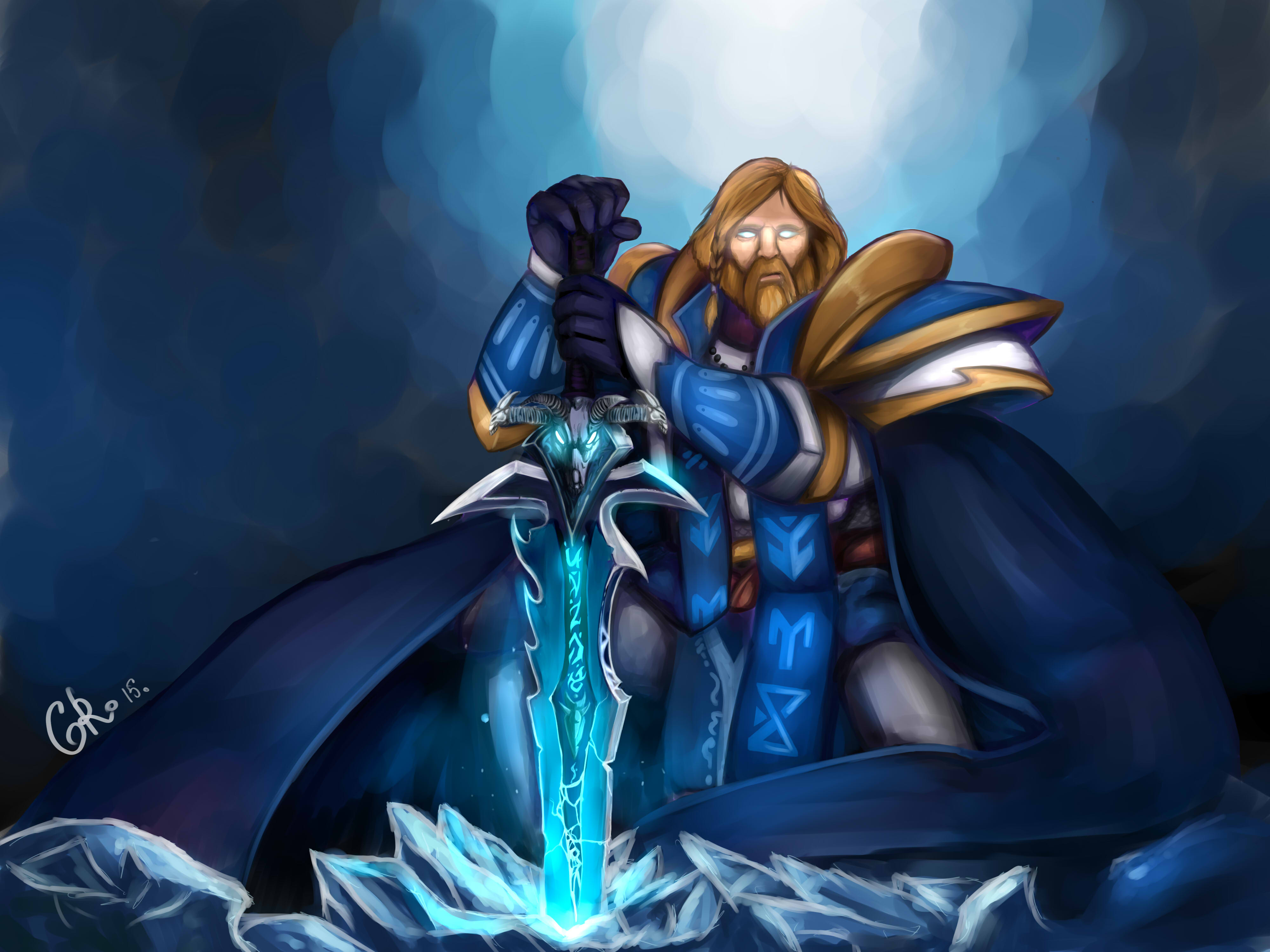 omniknight frostmorn crossover know your meme