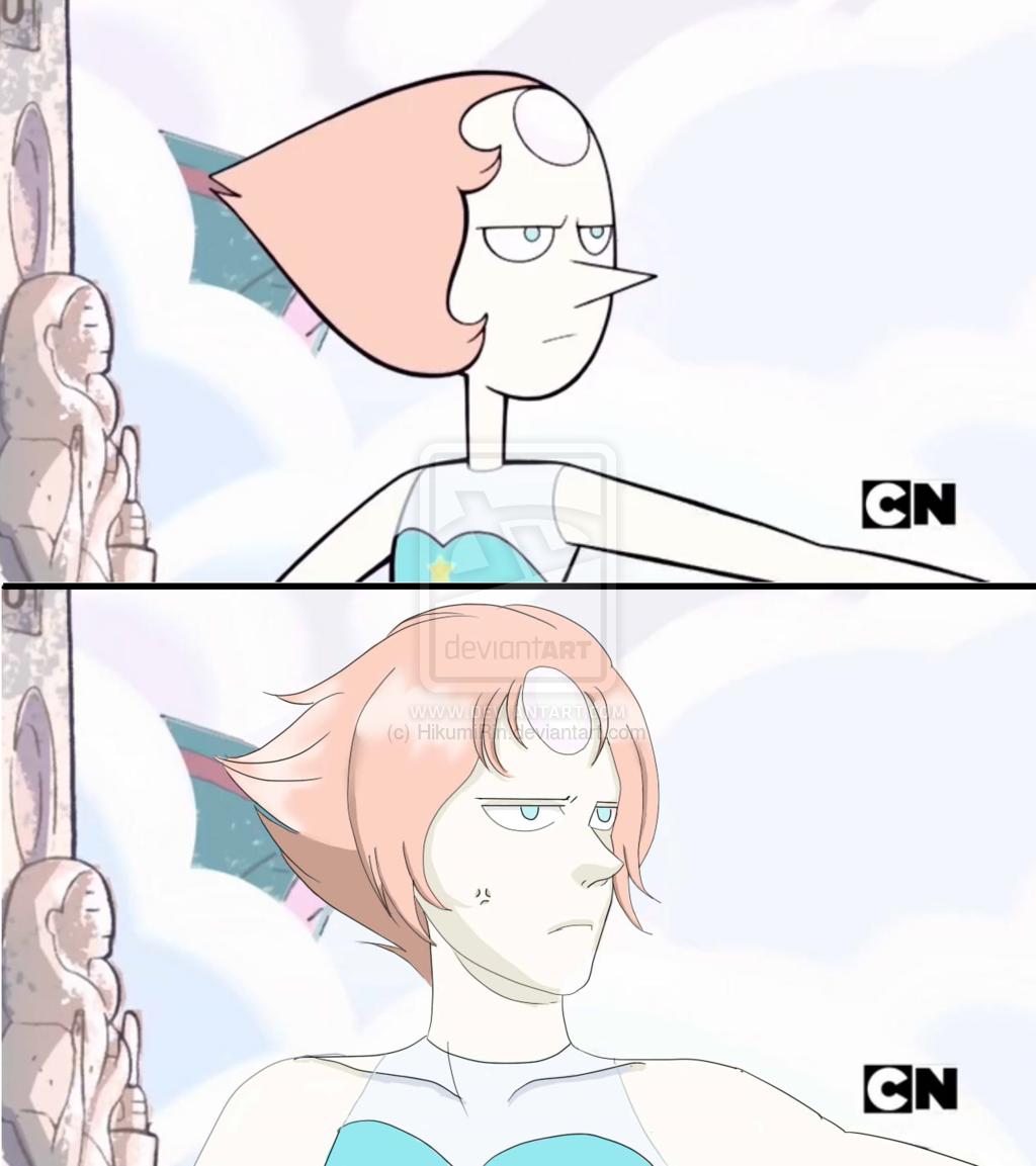 anime Steven universe pearl