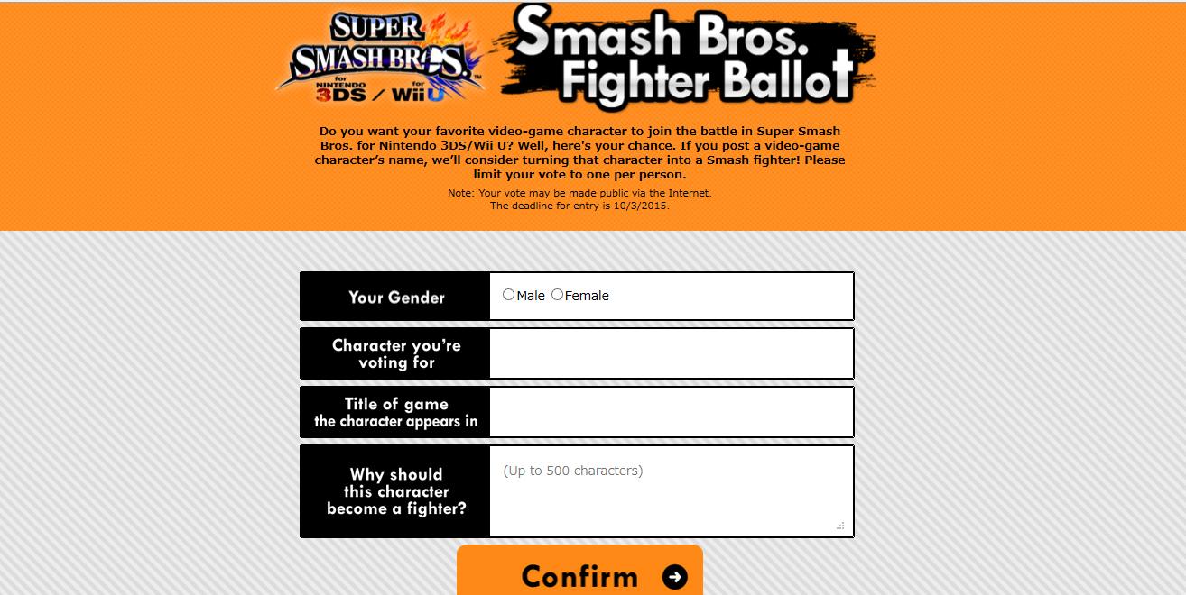 word ballot template