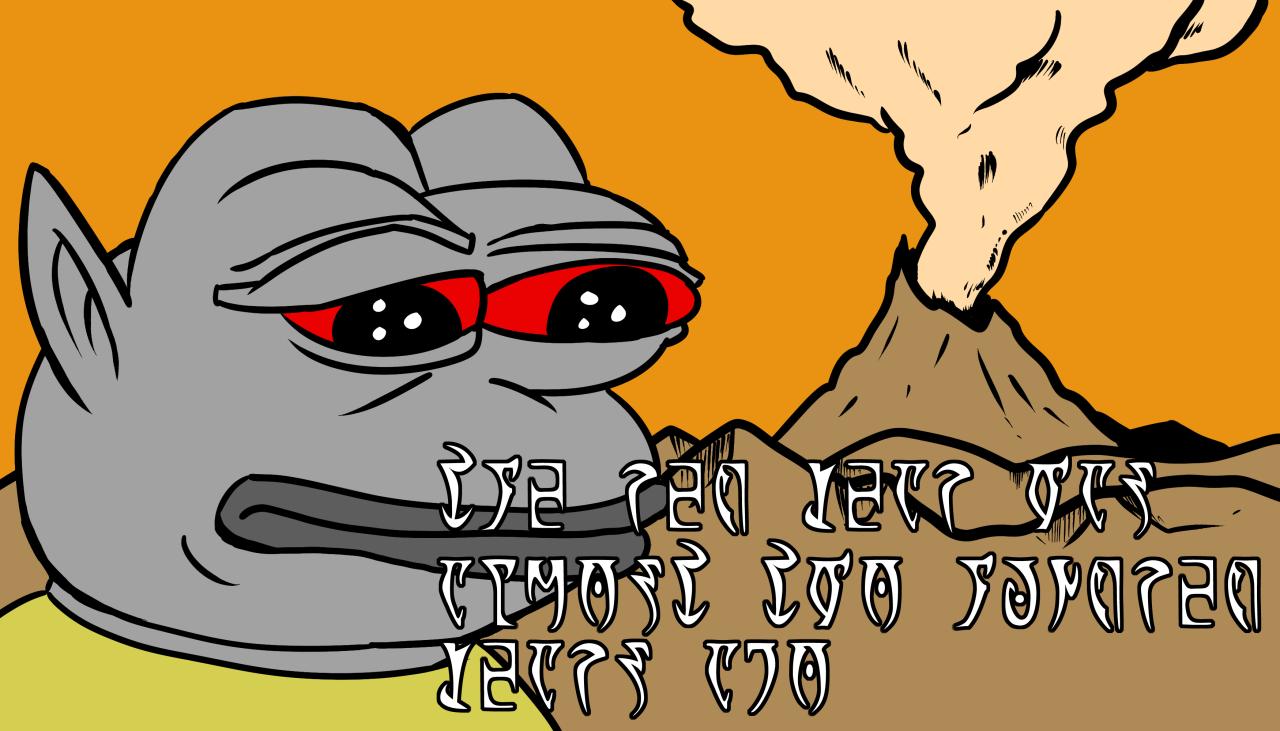 2fa daedric pepe feels bad man sad frog know your meme,Know Your Meme Pepe