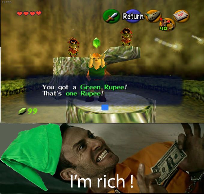 4ed it's payday, fairies! the legend of zelda know your meme
