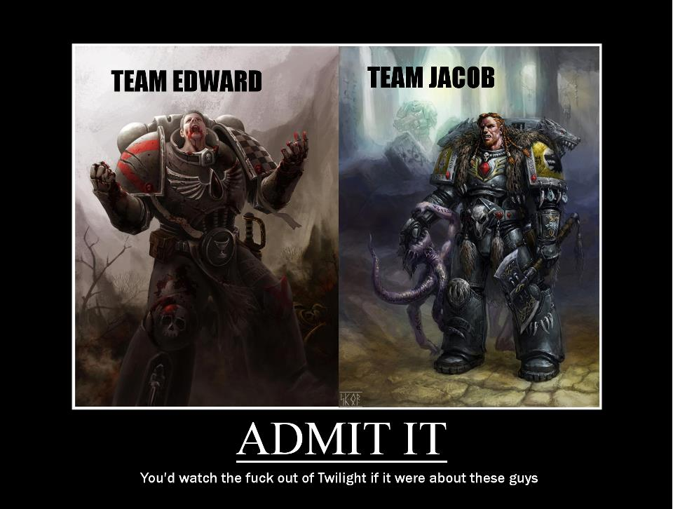 0d7 heresy or just a truthful observation? warhammer 40,000 know
