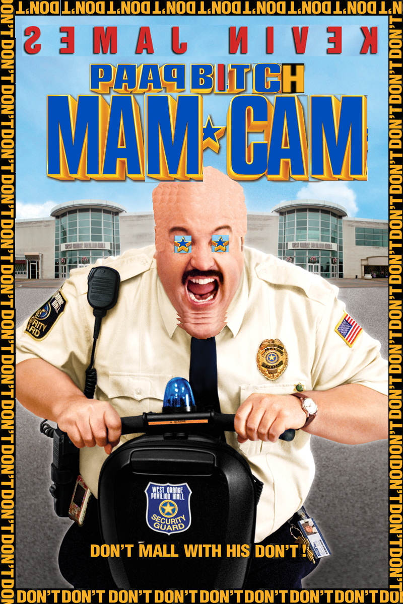 paap bitch mam cam | paul blart: mall cop | know your meme