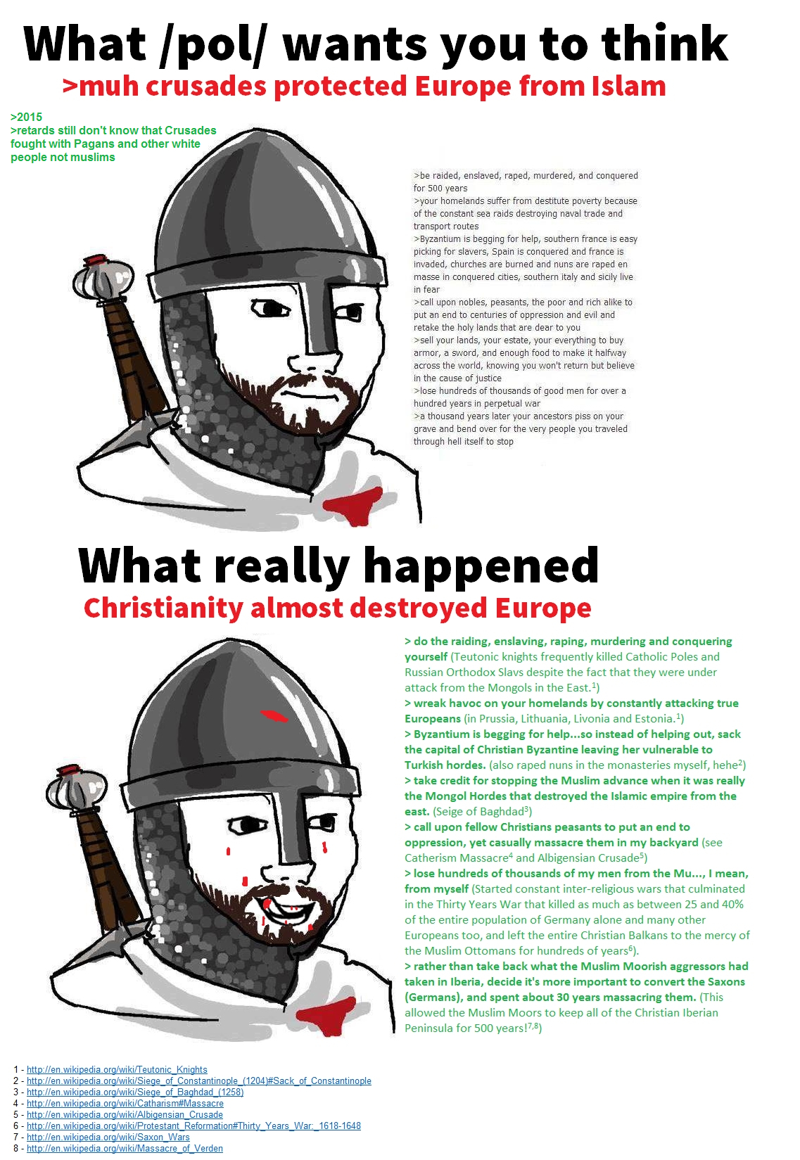 Crusades According To /pol/