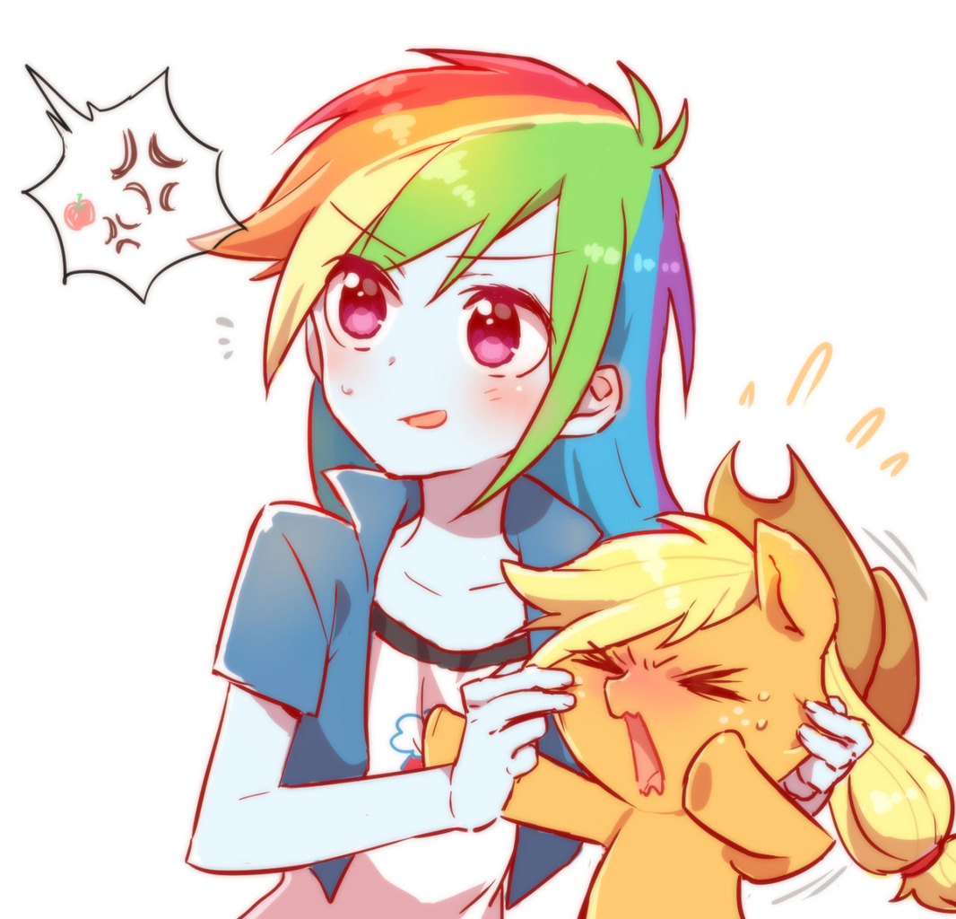 Hey Applejack Look what I found  My Little Pony Equestria