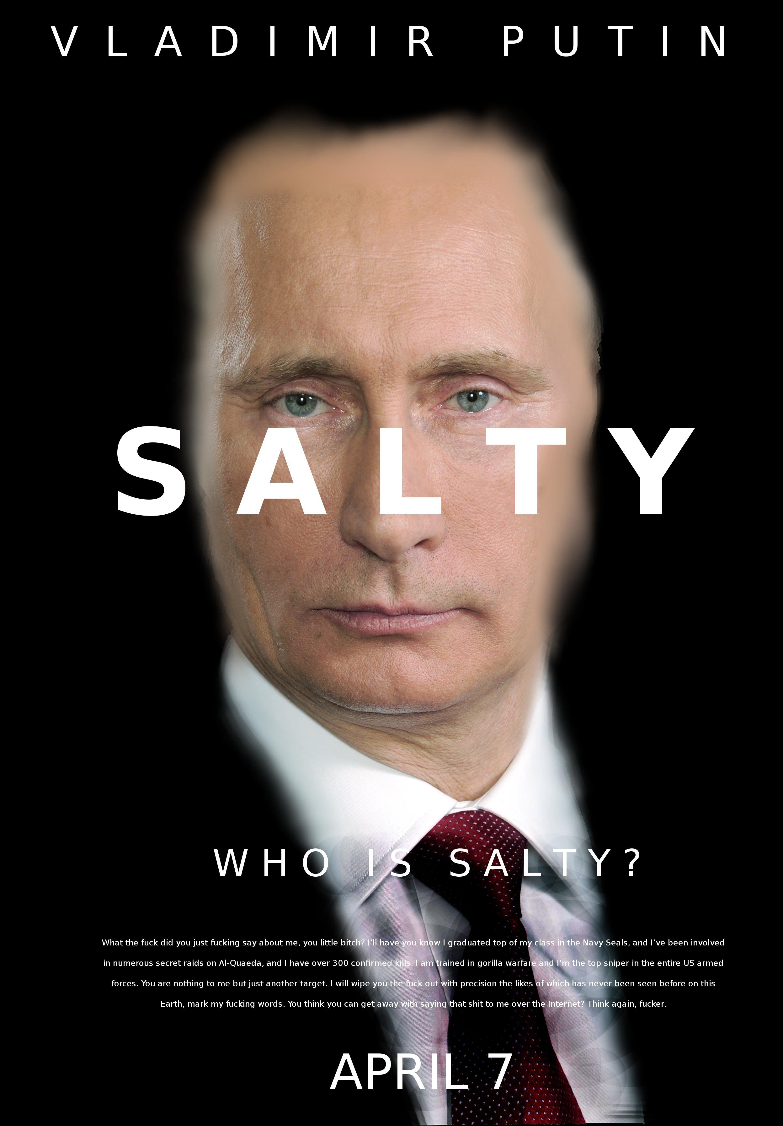 75d who is salty? russian anti meme law know your meme,Meme Law