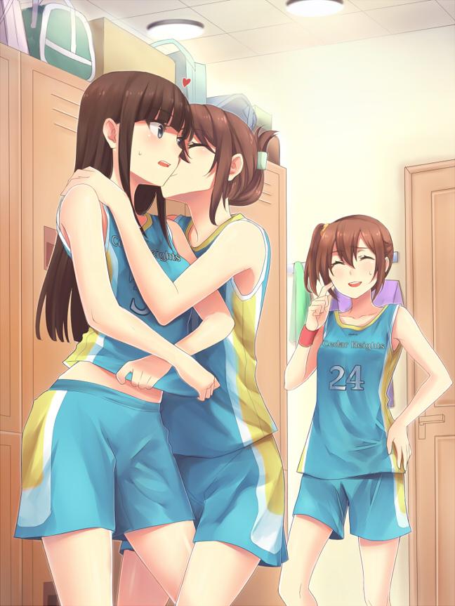 lesbian anime Adult