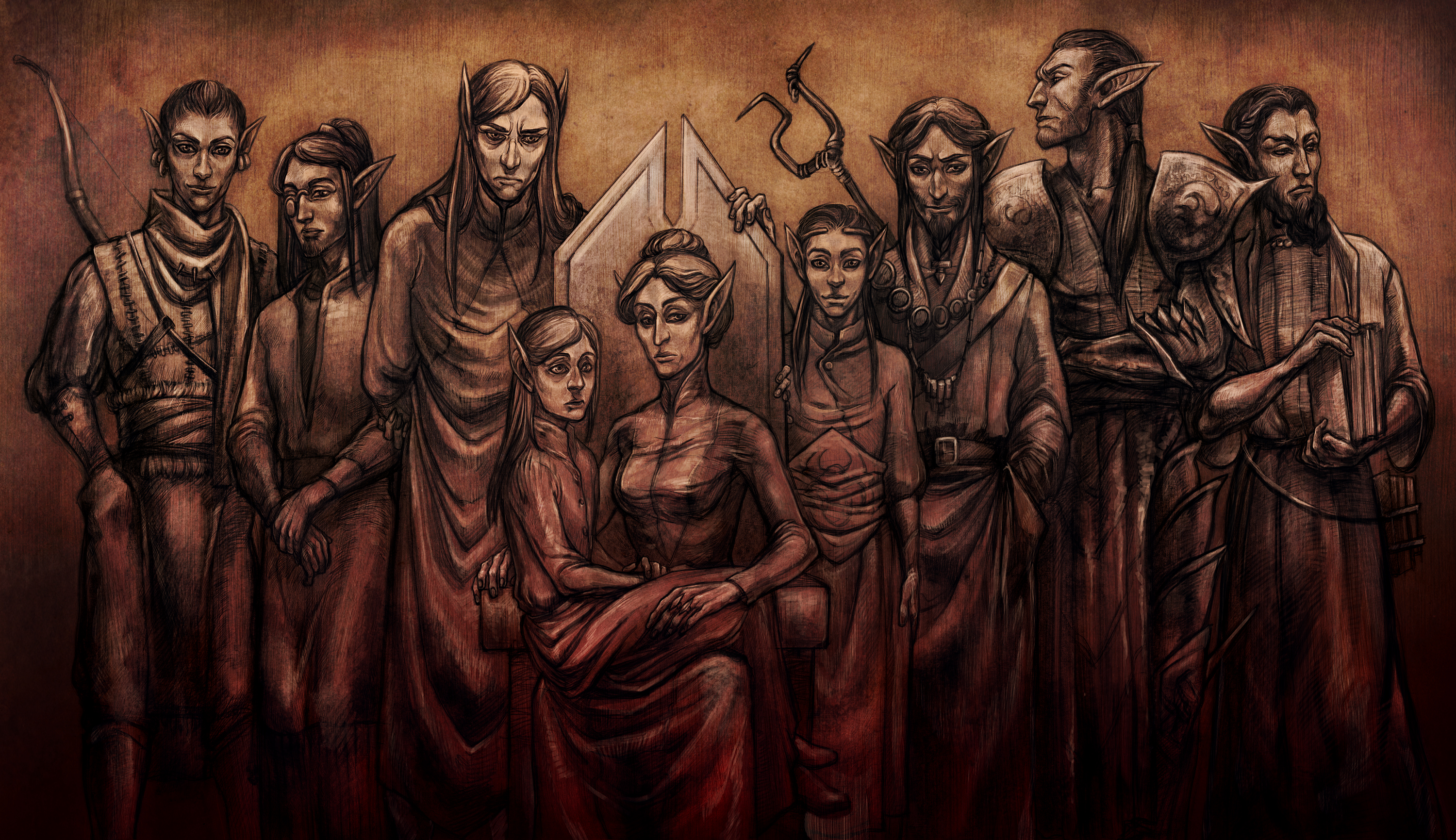 Voryn Dagoth And His Family The Elder Scrolls Know