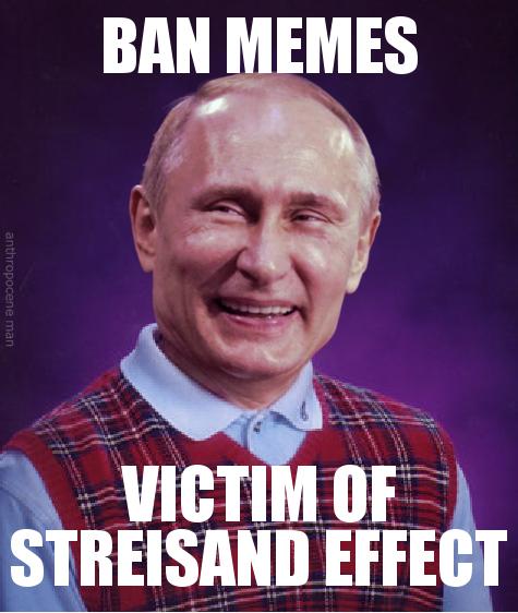 e6a bad luck putin russian anti meme law know your meme,Meme Law