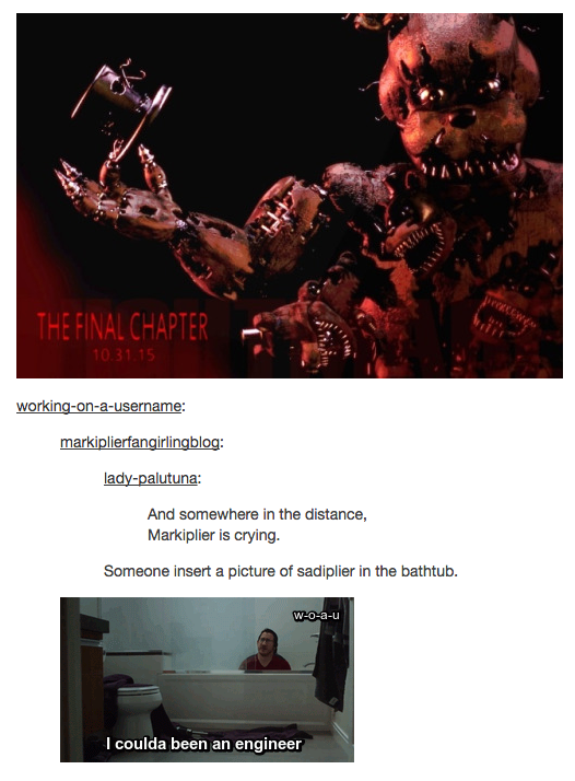 Sadplier five nights at freddy s know your meme