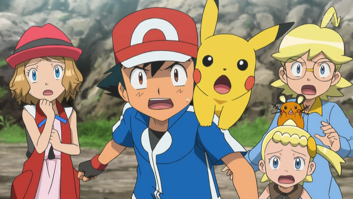 Pokemon X And Y Pokemon Heartgold And Soulsilver Serena Ash Ketchum Pikachu Misty Cartoon Anime
