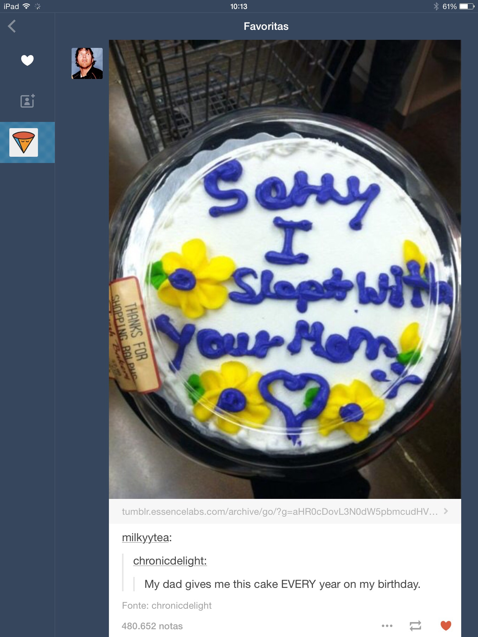 Scumbag Dad Apology Cakes Know Your Meme